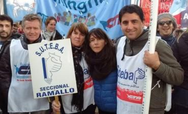 SUTEBA Ramallo presente en La Plata