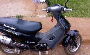 Roban dos motos en la ciudad de Ramallo