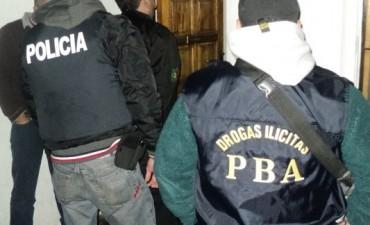 Secuestran cocaína y marihuana tras los allanamientos