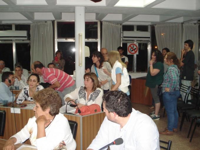 UPVA y la Asamblea Vecinal expresaron su rechazo