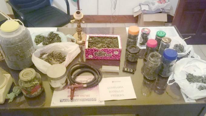 Secuestran marihuana en Villa Ramallo