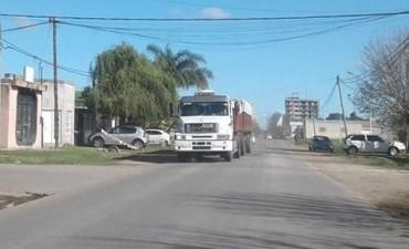 Prohibido el ingreso de transito pesado al ejido urbano