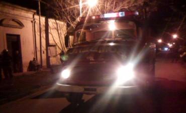 Violencia de género e incendio de una vivienda en Ramallo
