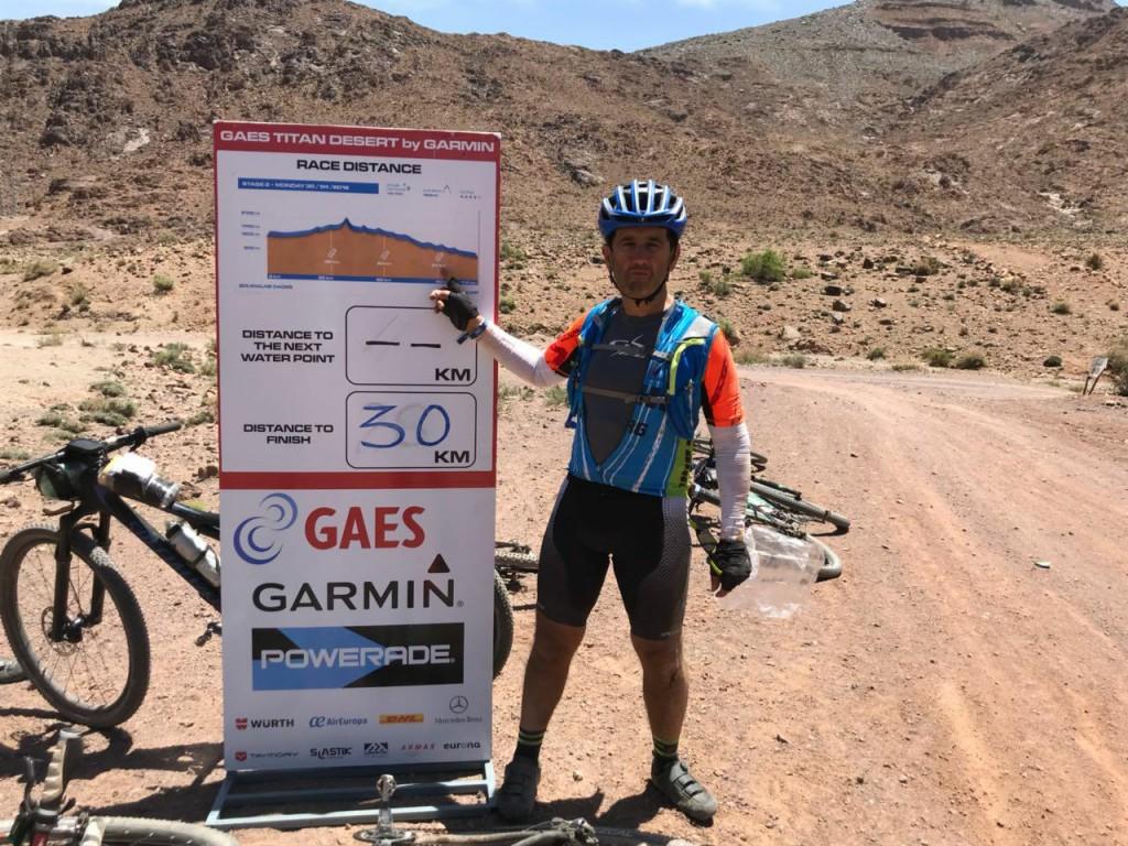 Marruecos: Raúl Scianca escala posiciones en la competencia