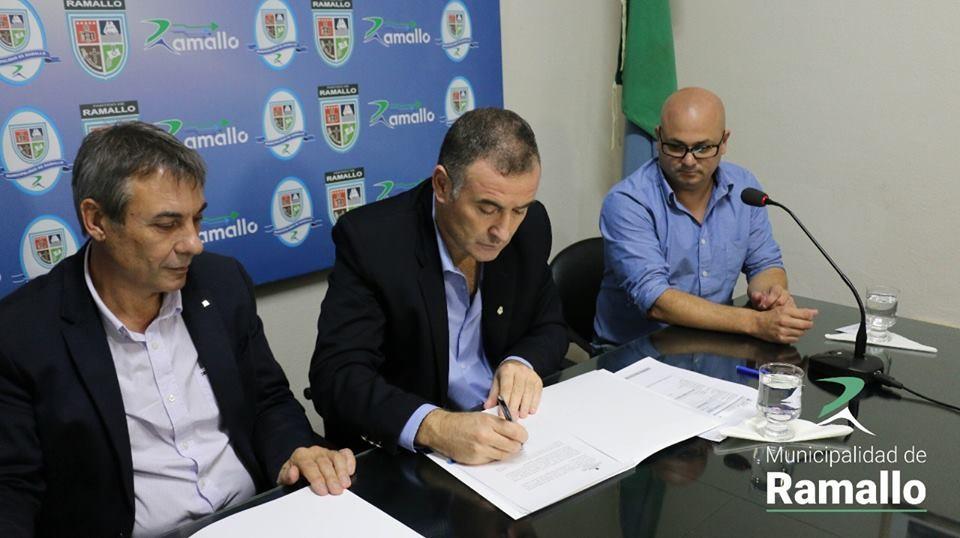 La Municipalidad de Ramallo firmó un Convenio con la Universidad Tecnológica Nacional