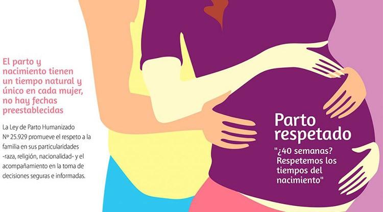 Charla sobre parto respetado