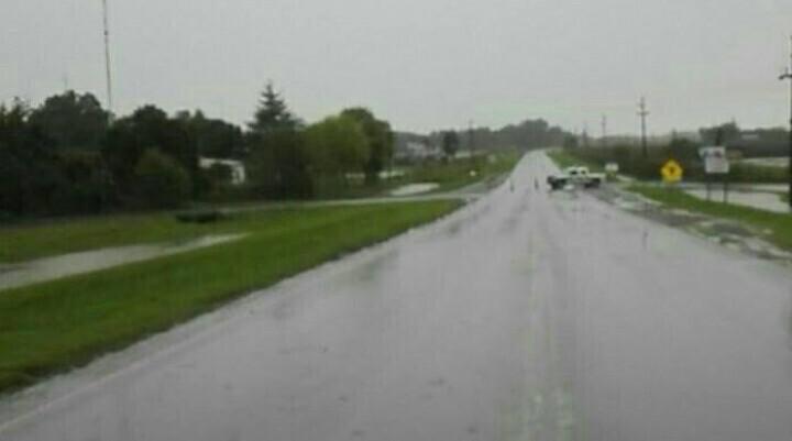Más de doscientos milímetros llovieron en los cuatro días