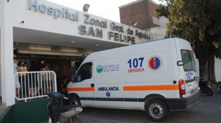 Grave accidente en la Avenida San Martín de Villa Ramallo