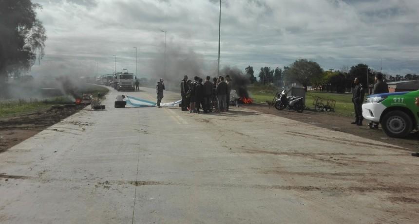 Protesta en Villa General Savio