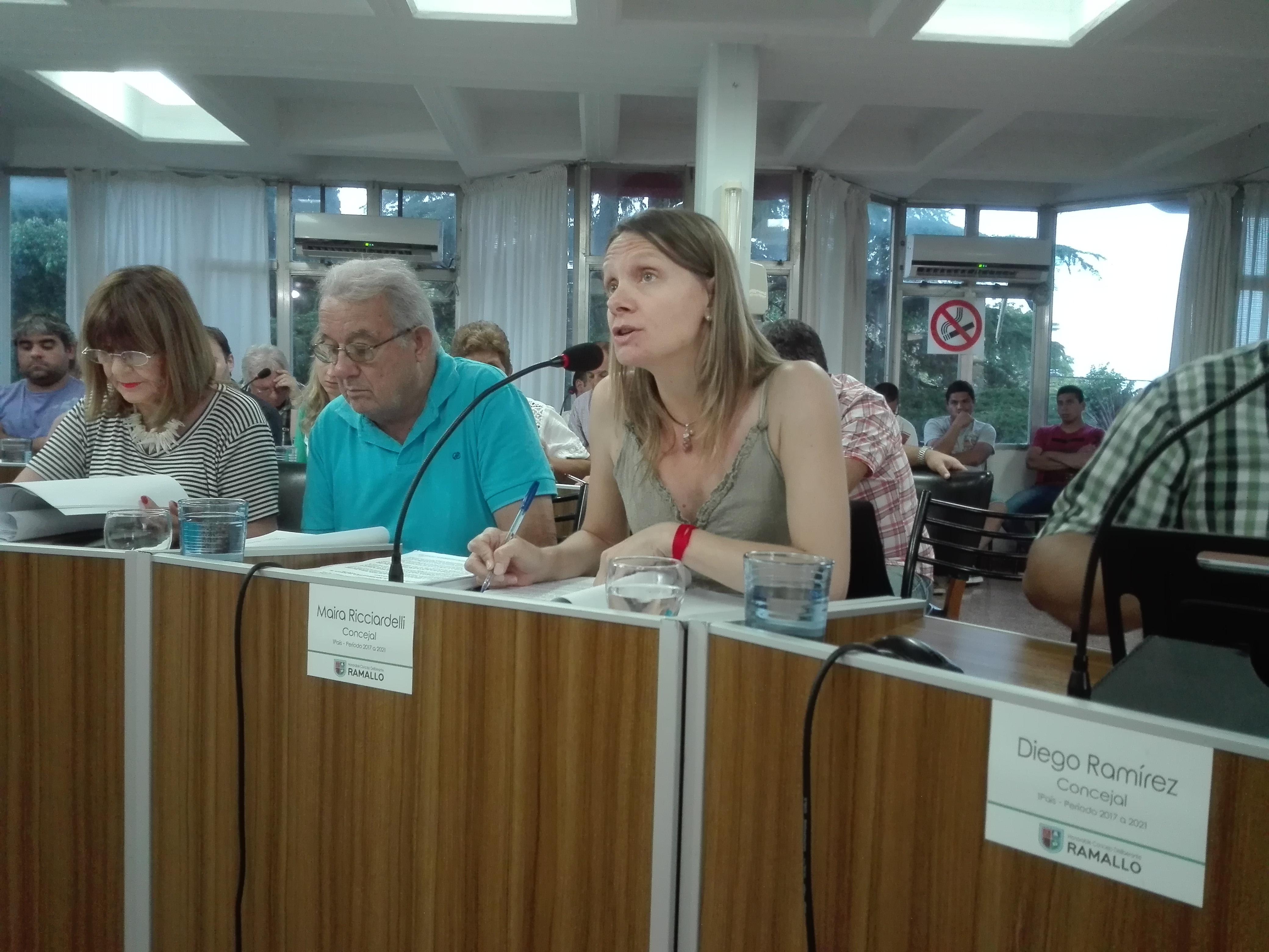 Ricciardelli 'Presentamos una resolución pidiéndole informes al Rector de la Universidad de Rosario por el proyecto Promas '