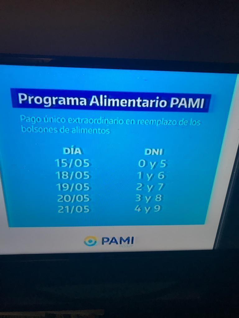 PAMI informa