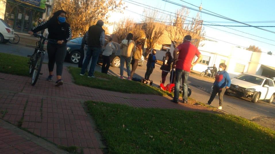 Accidente de tránsito en Villa Ramallo