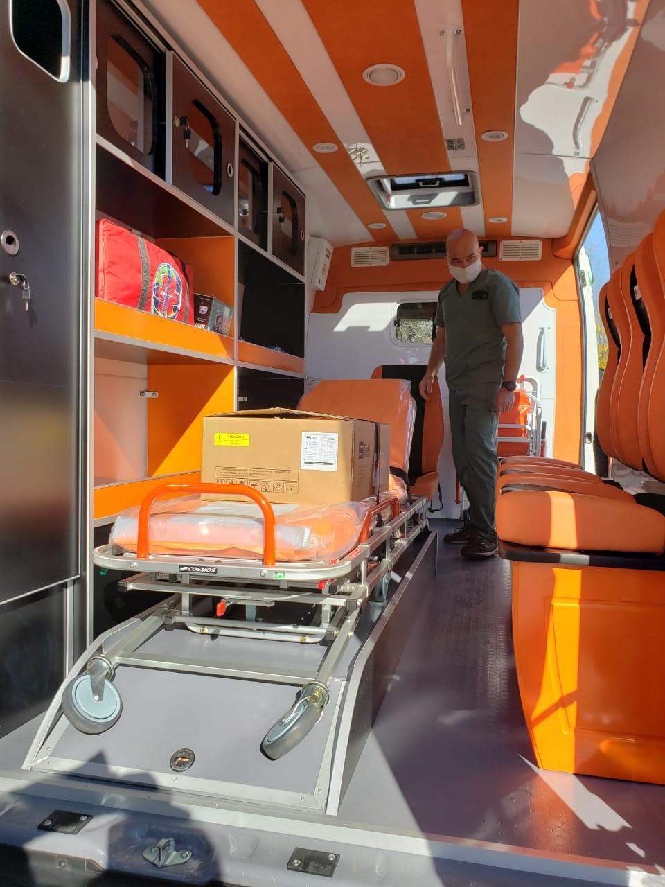 Nueva ambulancia