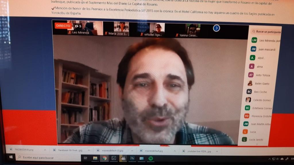 Literatura y Periodismo en las escuelas en tiempos de pandemia
