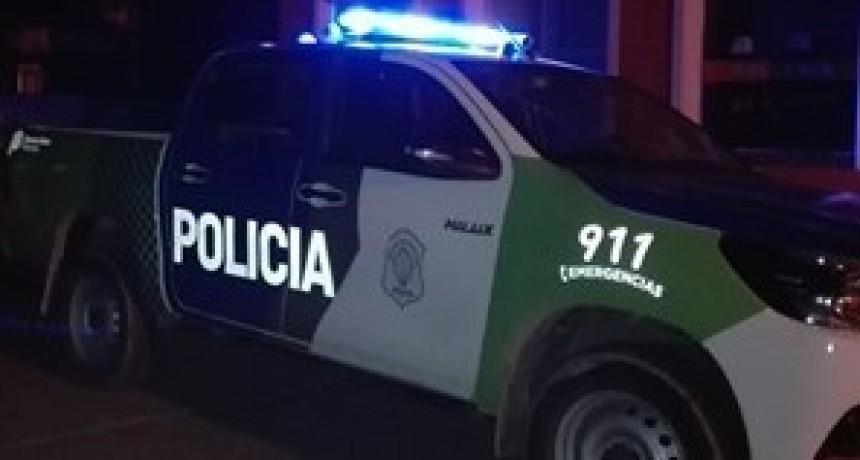 Agredieron a la policía y terminaron detenidos