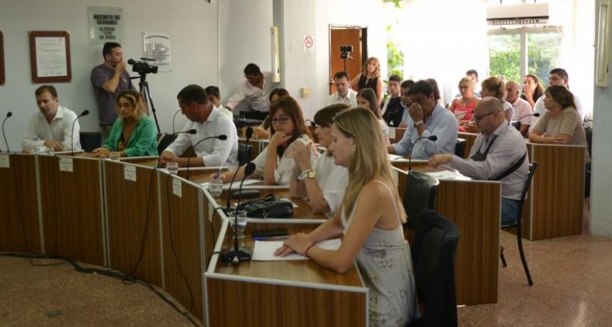 Notas y proyectos que serán tratados en el Concejo Deliberante