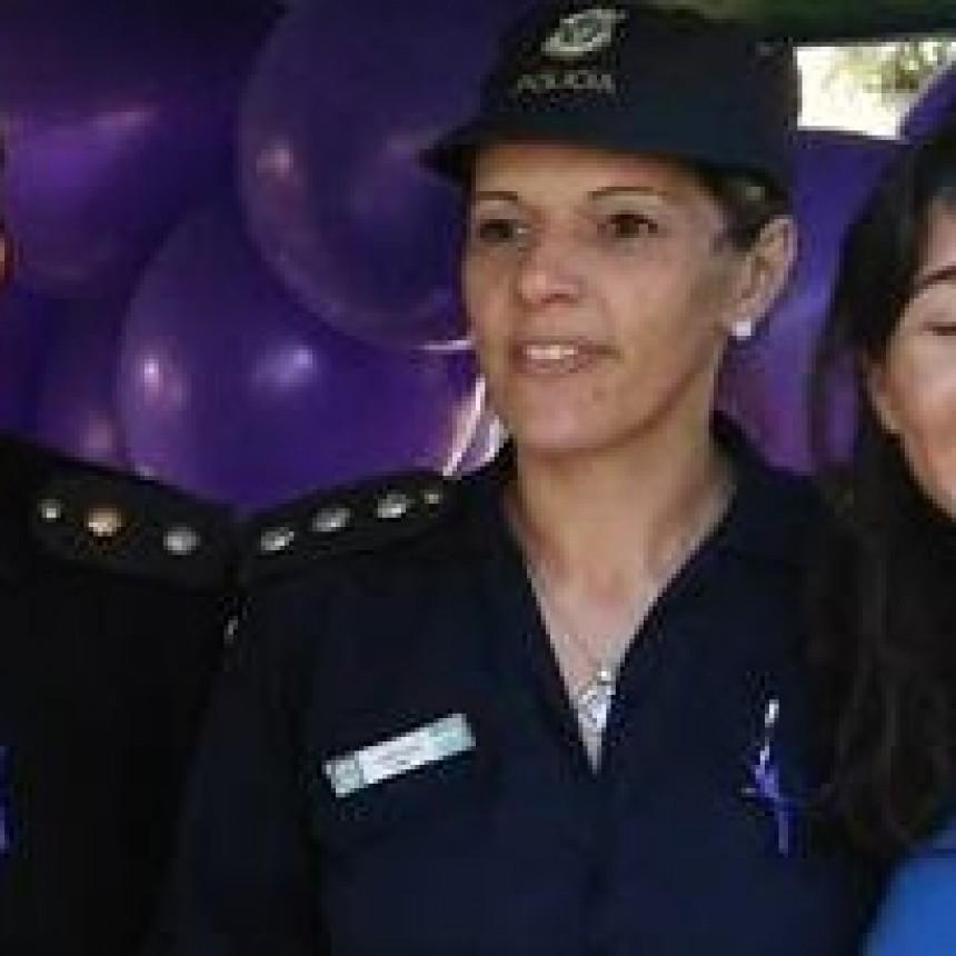 Carolina Urquiaga nueva jefa distrital de policía