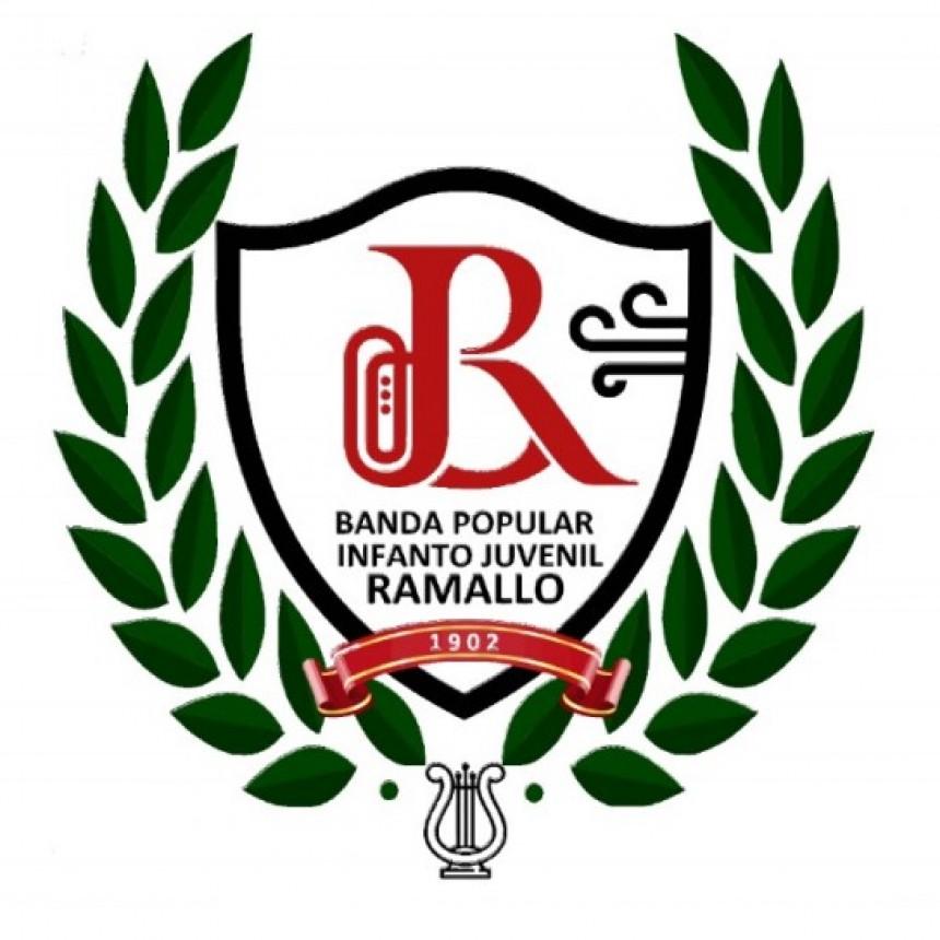 LA HISTORIA DEL ESCUDO DE LA BANDA POPULAR INFANTO JUVENIL DE RAMALLO