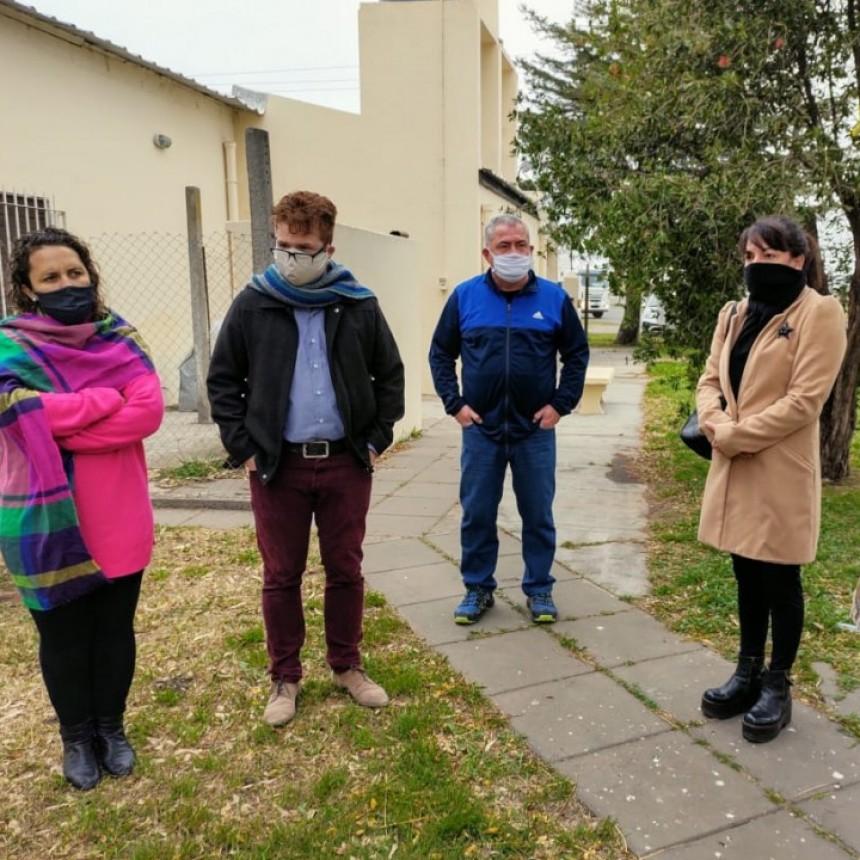"""El Gobierno Municipal comienza con las Obras de Mejoras en la Escuela Primaria N°13 """"Paula Albarracín de Sarmiento"""""""