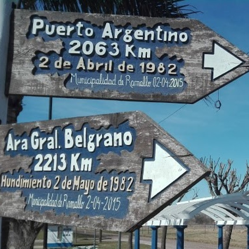 Este domingo en Villa General Savio se recordará a Carlos A. González y a todos los integrantes del ARA general Belgrano