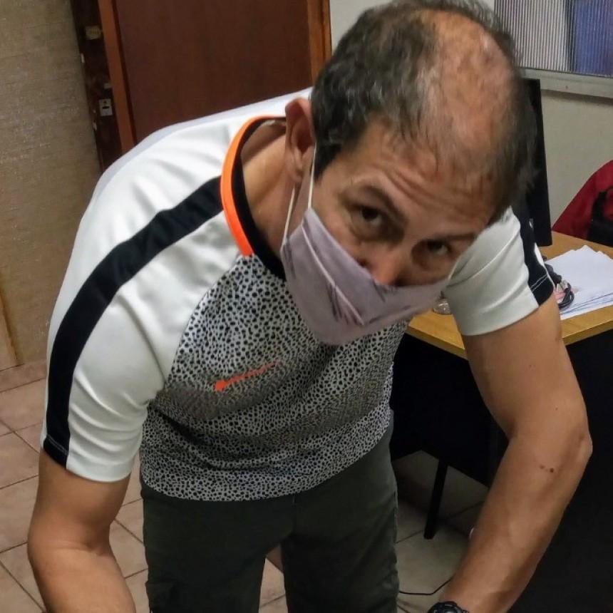 Mauricio Saludas se convirtió en el nuevo director de deportes municipal