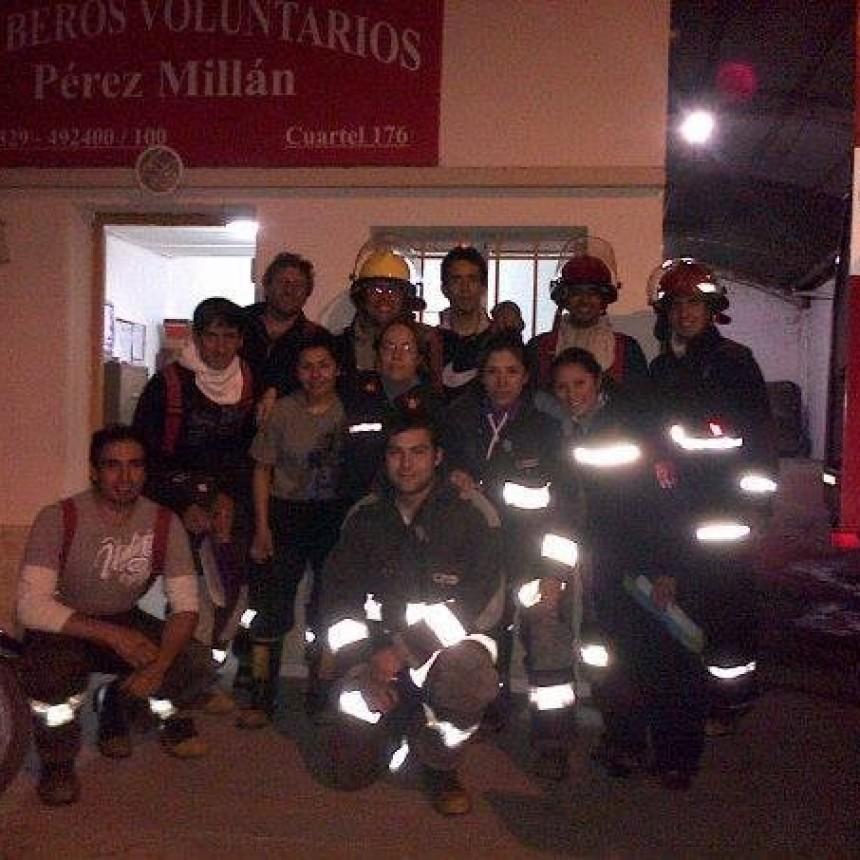 Pérez Millán:   Piden la vacunación para bomberos voluntarios