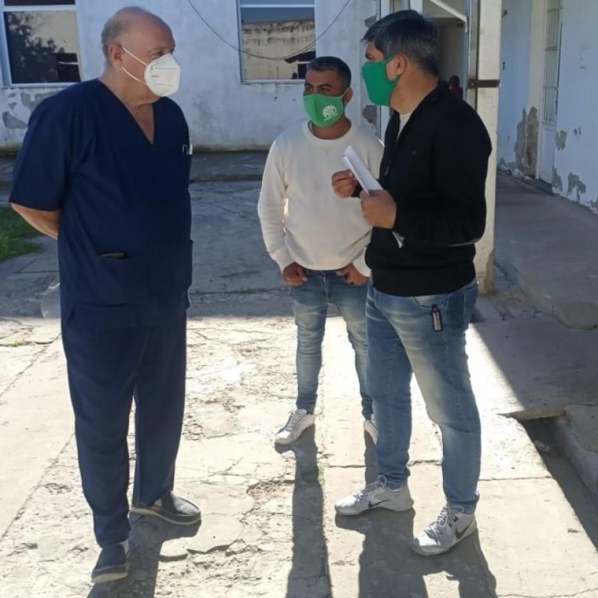Pandemia: ATE ofreció colaborar con el hospital Municipal