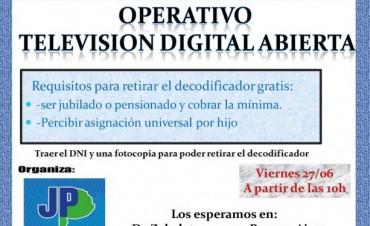 Entregan decodificadores para la Televisión Digital Abierta