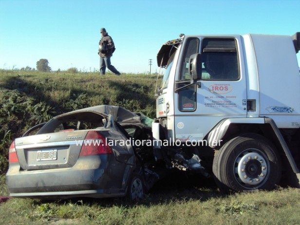 Fatal accidente en camino de la costa