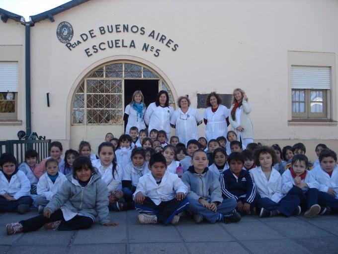 """Escuela N° 5: Proyecto """"La Salud como forma de vida"""""""