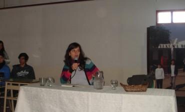 Sabrina Gullino brindó una charla en la Escuela Técnica