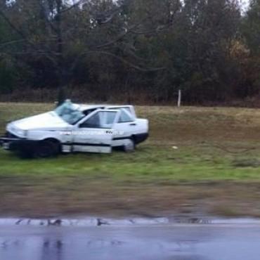 Grave accidente en el camino de la Costa