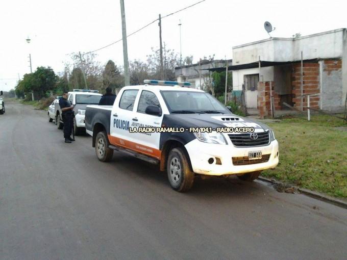 Allanamientos en Villa Ramallo