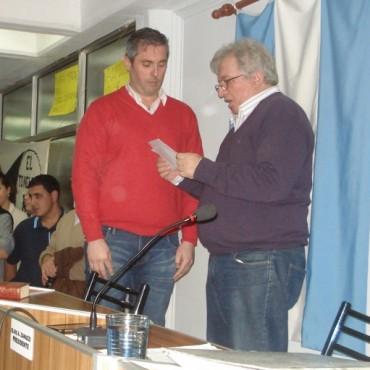 Massot juró como concejal en reemplazo de Dentone