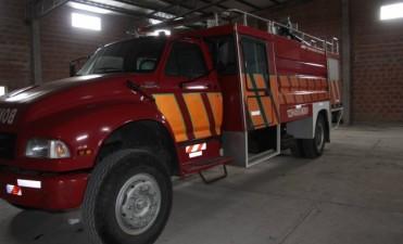 Nuevo móvil para bomberos de Pérez Millán