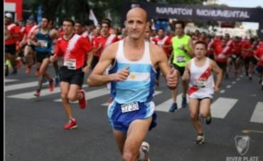 """Alejandro Reynoso fue 13° entre 8000 corredores en la """"Maratón Monumental"""""""