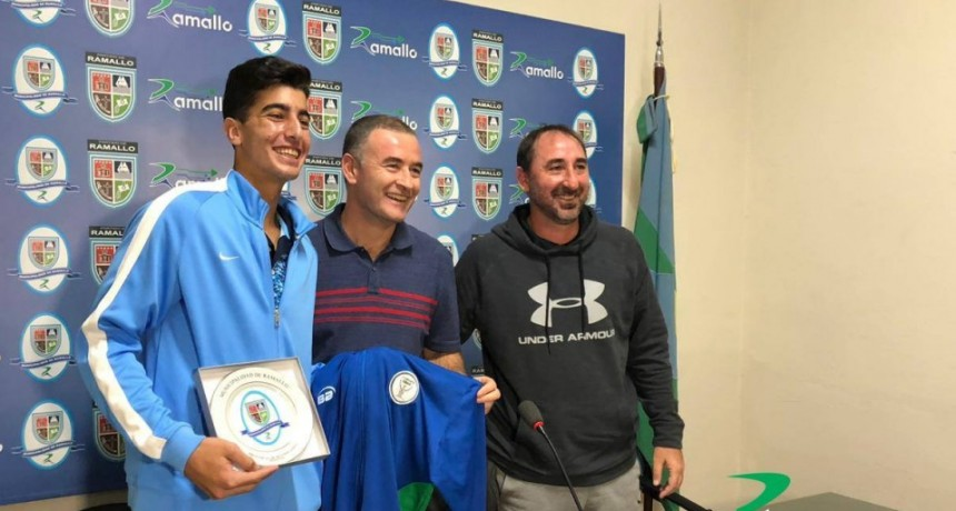 Reconocimiento al Tenista Ramallense Tomás Farjat