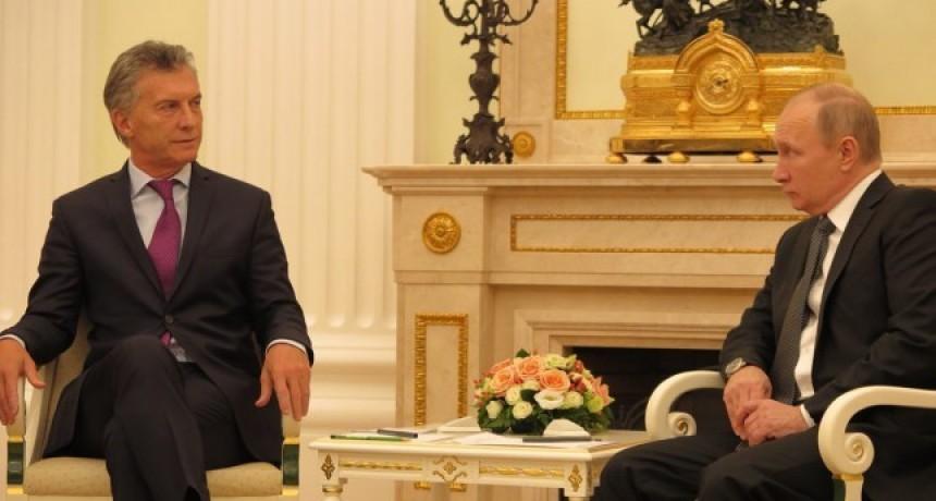 Pese al pedido de Putin a Macri, siguen trabadas las inversiones en el puerto de Ramallo