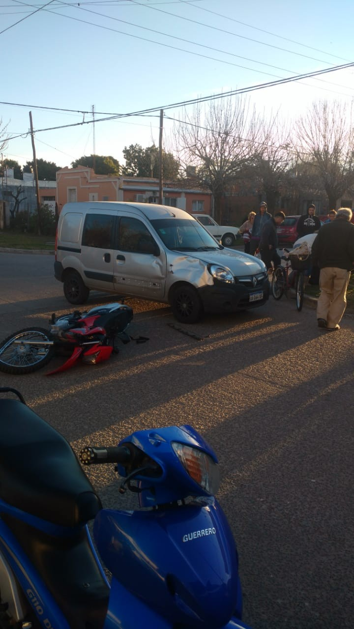 Accidente en Villa Ramallo