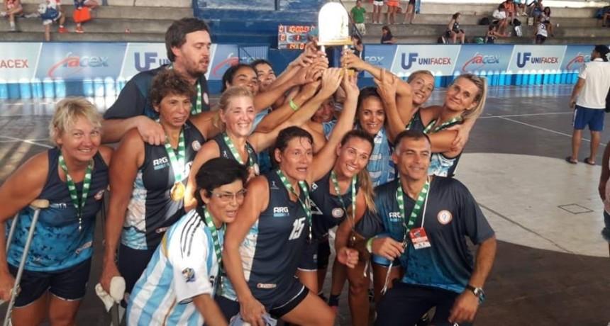 Germán Zalloco campeón Panamericano con la Selección Argentina