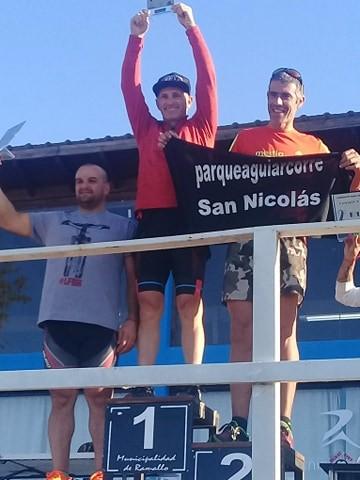 Marsili, Hulgich y Sianca fueron campeones en la competencia Ramallo X 3