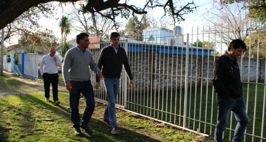 El Senador Esteban Bullrich visitó Ramallo