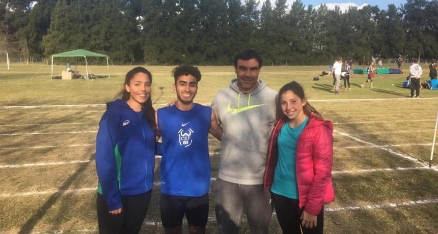 Lisandro Portillo y Ana Toro Campeones Provinciales