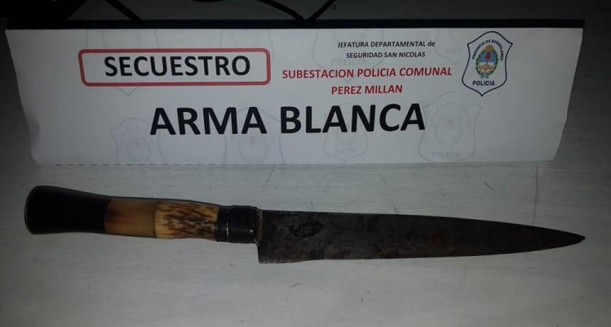 Pérez Millán: Detenido por robo