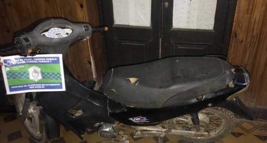 Esclarecimiento y recuperación de dos  motocicletas sustraídas en Ramallo