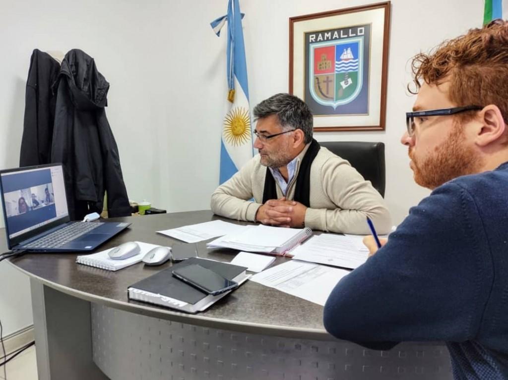 La Ministra de Educación se reunió con el Intendente