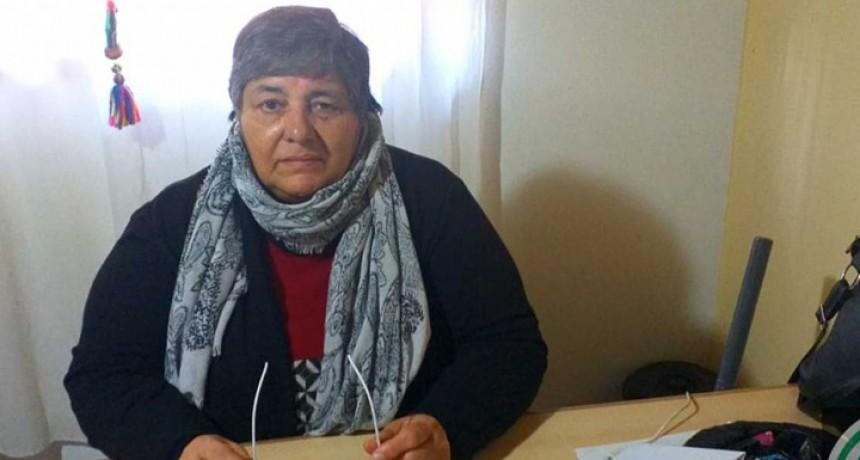 """Nora Oliveros: """"Ningún auxiliar de la educación se debe presentar a trabajar"""""""