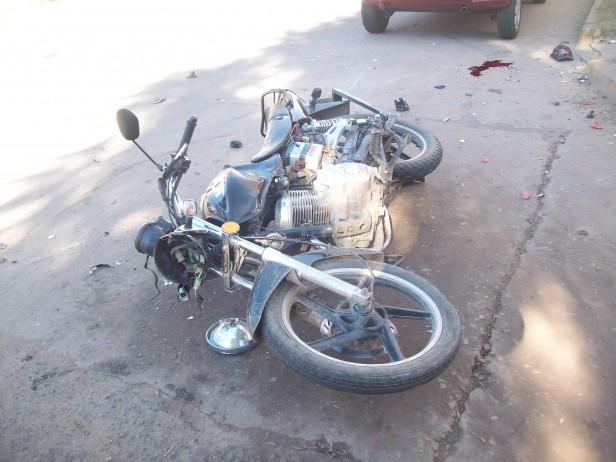 Accidente de tránsito sin consecuencias graves