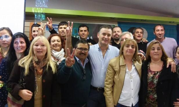 Poletti presentó a los precandidatos que competirán en las PASO del FpV