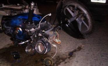 Villa Ramallo: Violento accidente en Clark e Yrigoyen